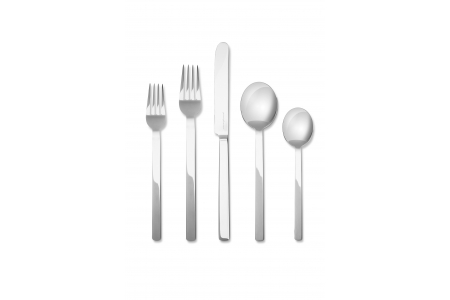 005 - Cutlery set 5pcs Stile Argentato