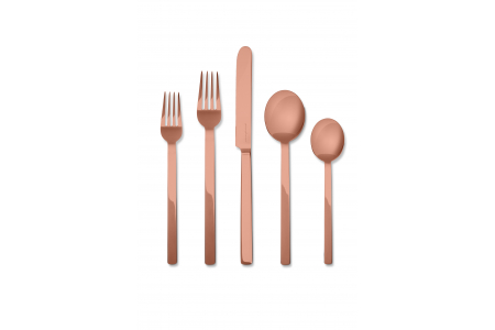 005 - Cutlery set 5pcs Stile Bronzo