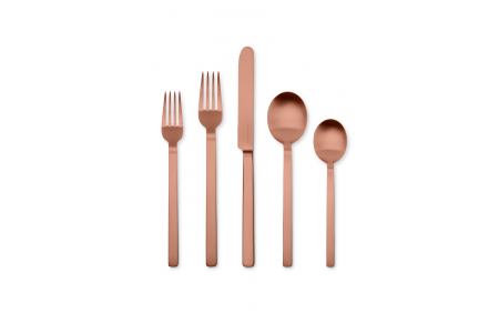 005 - Cutlery set 5pcs Stile Bronzo Ice