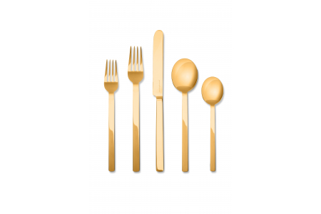 005 - Cutlery set 5pcs Stile Oro